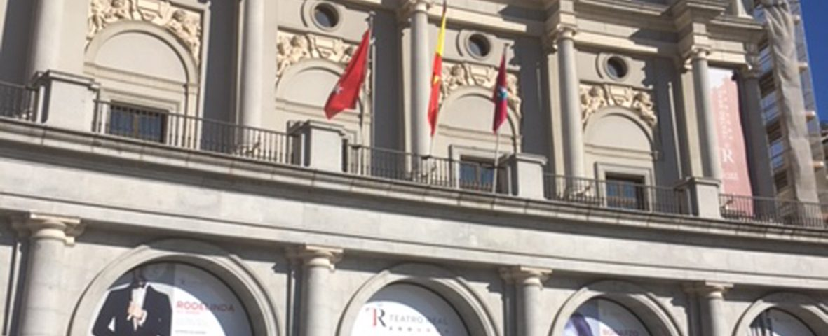 Limpieza Fachada Teatro Real